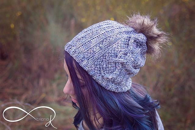 Infinity whirl hat