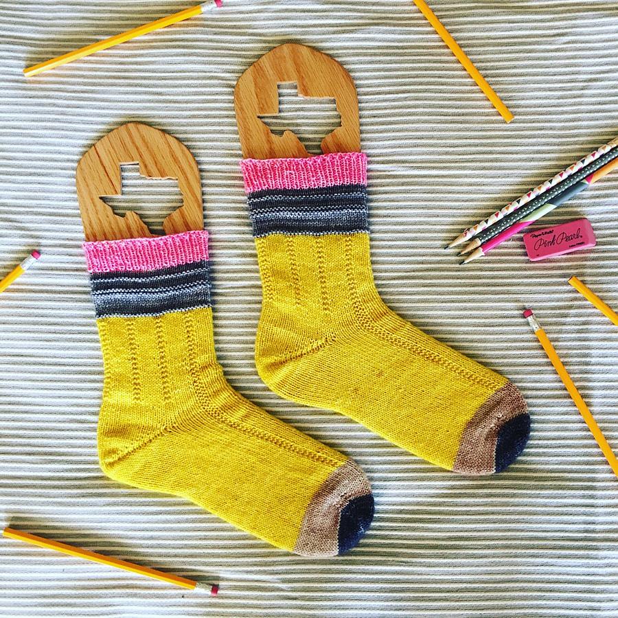 Pencil Socks