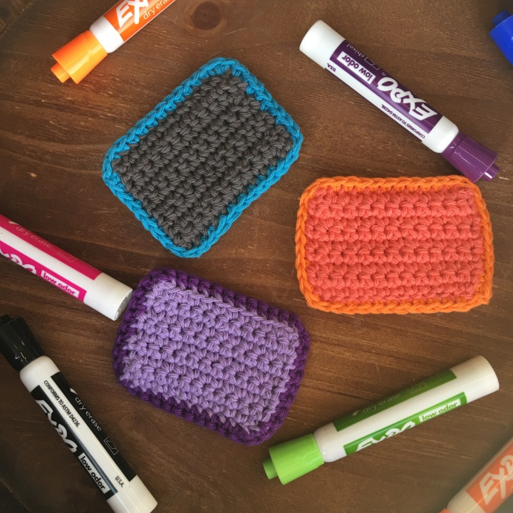 Easy Eraser | Back to School Crochet Collection