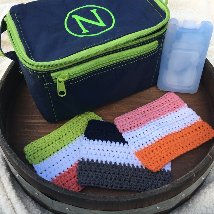 Lunchtime Napkins | Back to School Crochet Collection