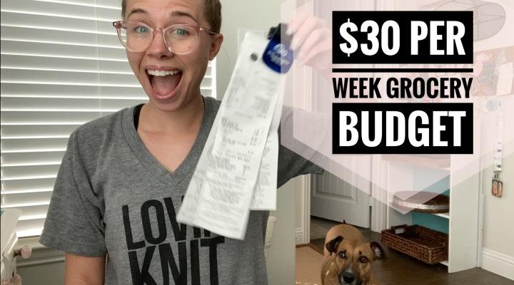 $30 per Week GroceryBudget
